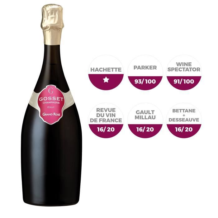 CHAMPAGNE Champagne Gosset Rosé