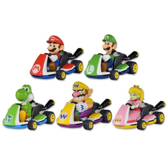 mario kart 1 racers de l 39 assortiment achat vente figurine personnage cdiscount. Black Bedroom Furniture Sets. Home Design Ideas