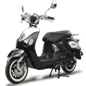 SCOOTER EUROCKA Scooter Fifty - 50cc - 4T - Noir