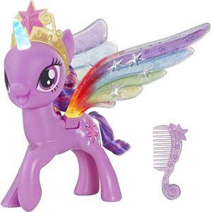 FIGURINE - PERSONNAGE MY LITTLE PONY -Twilight Sparkle Ailes Arc-en-Ciel