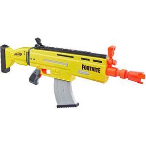 PISTOLET BILLE MOUSSE Nerf Fortnite AR-L et Flechettes Nerf Officielles