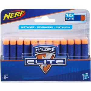 RECHARGE PISTOLET BILLE NERF ELITE - RECHARGES X12