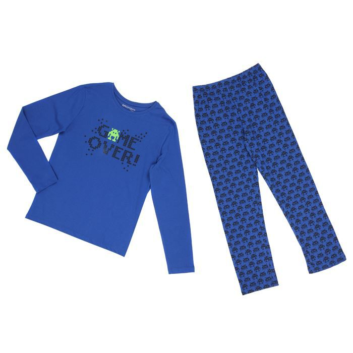 epop boys pyjama enfant gar on bleu royal achat vente. Black Bedroom Furniture Sets. Home Design Ideas