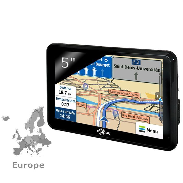 mappy ulti 490 europe achat vente gps auto mappy ulti 490 europe cdiscount. Black Bedroom Furniture Sets. Home Design Ideas