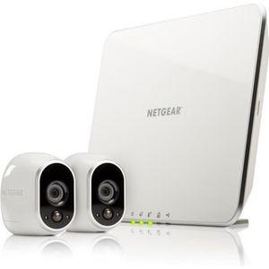 CAMÉRA DE SURVEILLANCE Arlo - Smart Caméra - Pack de 2 - Kit de Surveilla