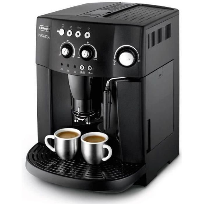 delonghi esam 4000 b machine expresso automatique avec broyeur magnifica noir achat vente. Black Bedroom Furniture Sets. Home Design Ideas