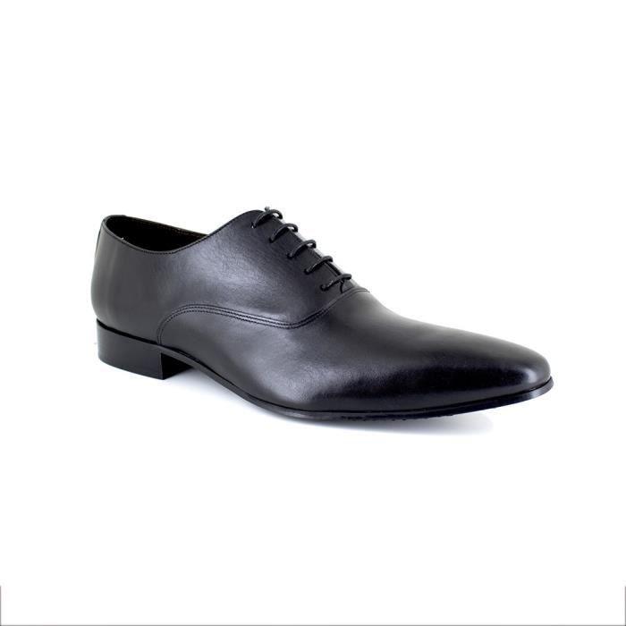 RICHELIEU J.BRADFORD JB-BEKERLEY Noir Chaussure Homme