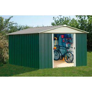 ABRI JARDIN - CHALET YARDMASTER Abri de jardin en métal 12m² - Vert et