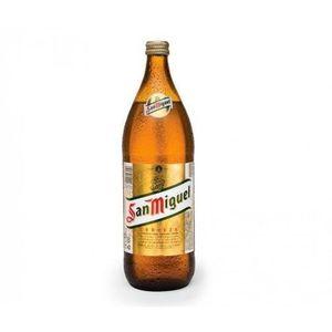 BIÈRE SAN MIGUEL Bière blonde 1L - 5° - Fabriquée en Esp
