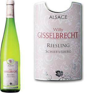 VIN BLANC Willy Gisselbrecht Alsace Riesling Schiefferberg -