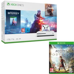 CONSOLE XBOX ONE Xbox One S 1 To Battlefield V + Assassin's Creed O