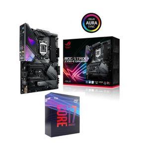 CARTE MÈRE Pack Intel Core i7 9700K + ASUS ROG Strix Z390-E G