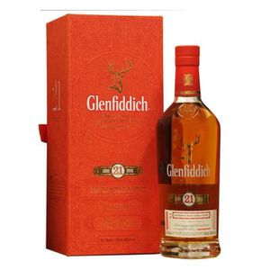 WHISKY BOURBON SCOTCH Glenfiddich 21 ans Gran Reserva 70cl 40°