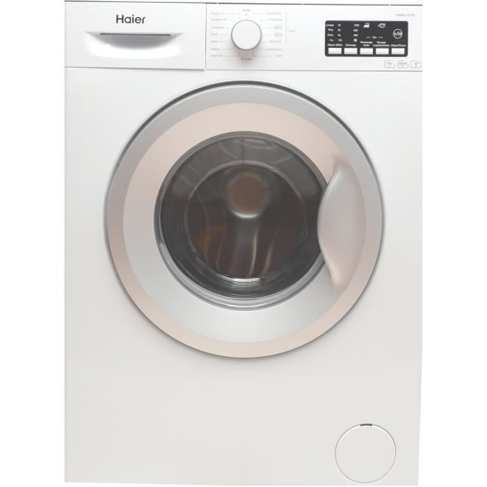 Haier hw60 12f2s lave linge lave linge electrom nager for Consommation eau machine a laver