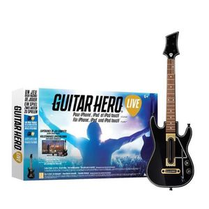 JEU TABLETTE Guitar Hero Live Jeu iPhone / iPad / iPod Touch
