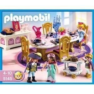 Destockage playmobil 5145 salle a manger royale univers miniature au meil - Destockage salle a manger ...