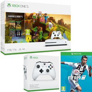 CONSOLE XBOX ONE Xbox One S 1 To Minecraft Creators + Fifa 19 + ma