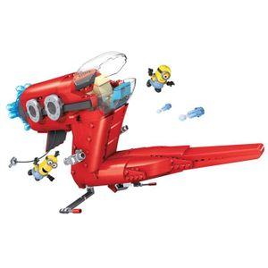 ASSEMBLAGE CONSTRUCTION LES MINIONS Mega Bloks - Le Jet de Supervillain