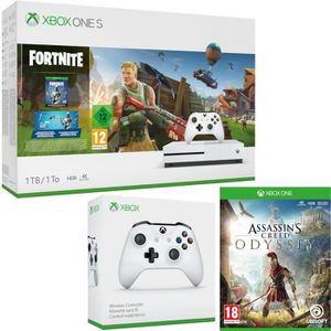 CONSOLE XBOX ONE Xbox One S 1 To Fortnite + Assassin's Creed Odysse