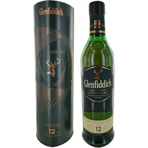 WHISKY BOURBON SCOTCH Glenfiddich 12 ans Special Réserve