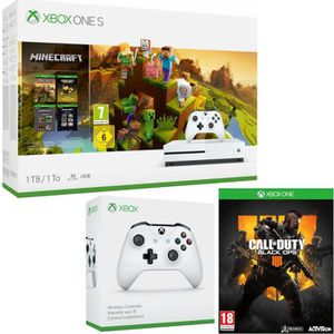 CONSOLE XBOX ONE Xbox One S 1  To Minecraft Creators + Call of Duty