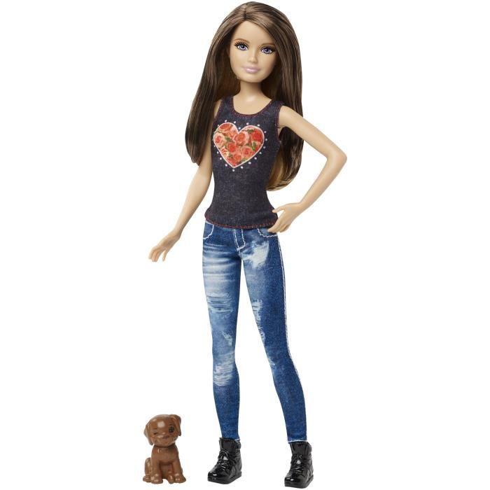 Barbie Skipper Et Son Petit Chien Achat Vente Poupée