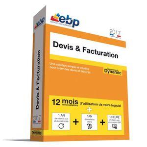 BUREAUTIQUE EBP Devis & Facturation DYNAMIC 2017 + Services VI