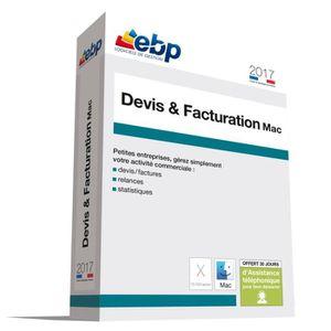 BUREAUTIQUE EBP Devis et Facturation MAC 2017