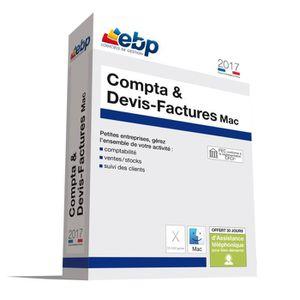 BUREAUTIQUE EBP Compta & Devis-Factures MAC 2017