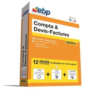 BUREAUTIQUE EBP Compta & Devis-Factures DYNAMIC 2017 + Service
