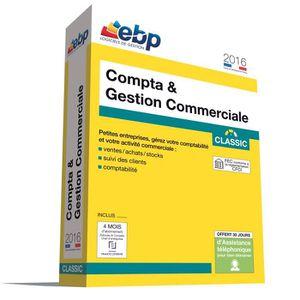 BUREAUTIQUE EBP Compta & Gestion Commerciale Classic 2016