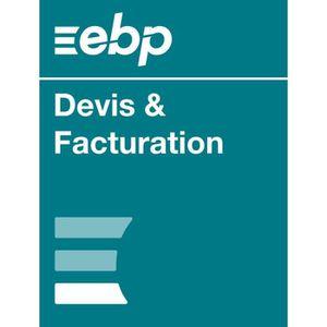 BUREAUTIQUE EBP Devis & Facturation Classic - Dernière version