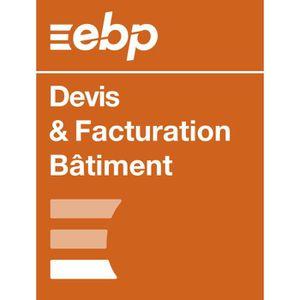 BUREAUTIQUE EBP Devis & Facturation Bâtiment OL - Dernière ver