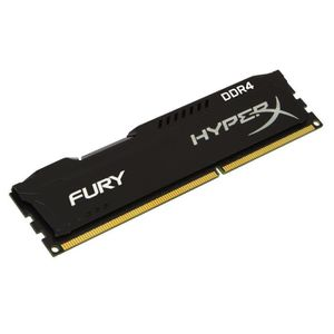 MÉMOIRE RAM HyperX FURY Black DDR4 4Go, 2666MHz CL15 288-pin D