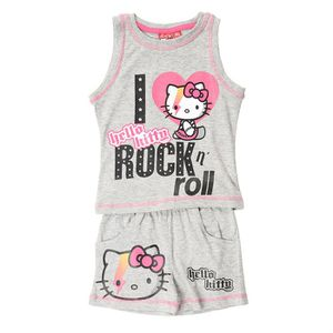 ENSEMBLE DE VETEMENTS HELLO KITTY Ensemble Fille Gris