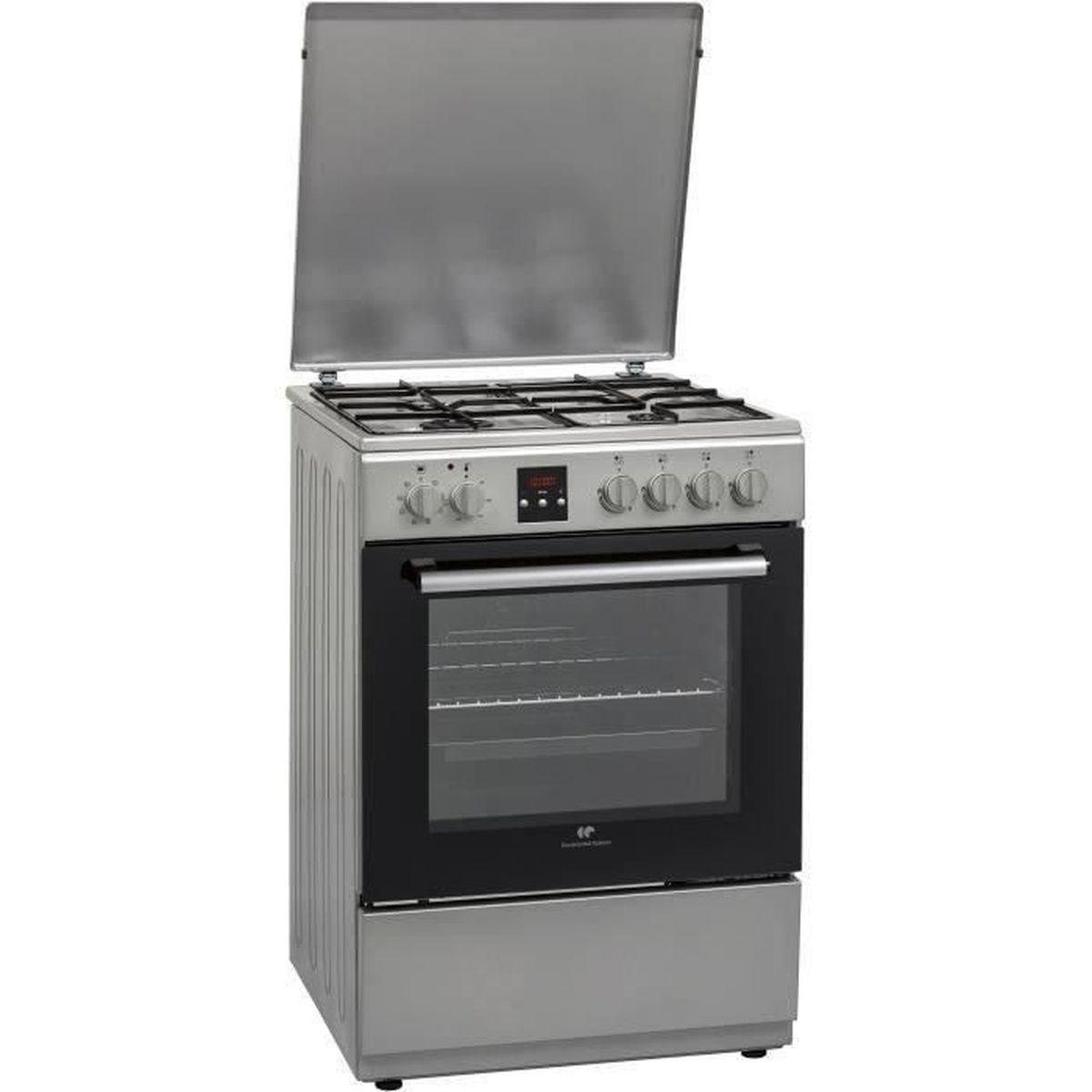 Piano De Cuisson Pas Cher Sauter cuisiniere gaz four gaz multifonction