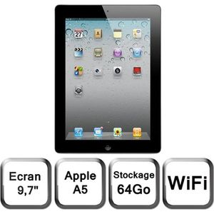 TABLETTE TACTILE Apple iPad 2 64 Go