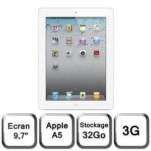 TABLETTE TACTILE Apple iPad 2 32 Go 3G