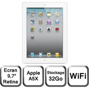 TABLETTE TACTILE Apple Nouvel iPad blanc 9,7
