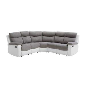 CANAPÉ - SOFA - DIVAN VOLUPTE Canapé de relaxation angle réversible 5 pl