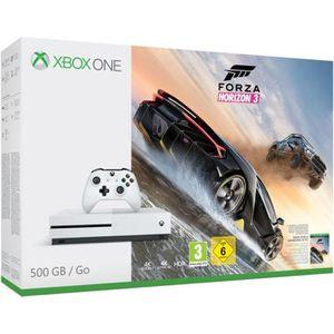 CONSOLE XBOX ONE Xbox One S 500 Go Forza Horizon 3