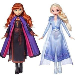FIGURINE - PERSONNAGE Disney La Reine des Neiges 2 - Lot de 2 Poupées ma