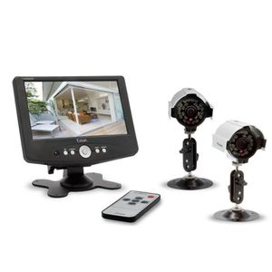 camera de surveillance filaire achat vente camera de. Black Bedroom Furniture Sets. Home Design Ideas