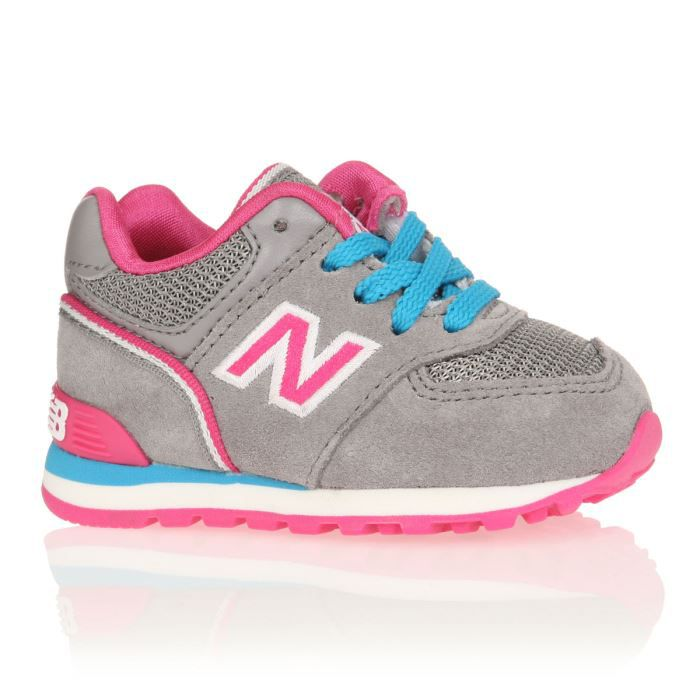 basket rose fille new balance