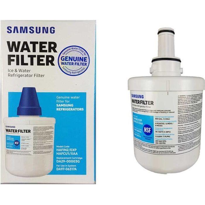Genuine Samsung Réfrigérateur Congélateur Cartouche de filtre à eau Aquapure DA2900003G