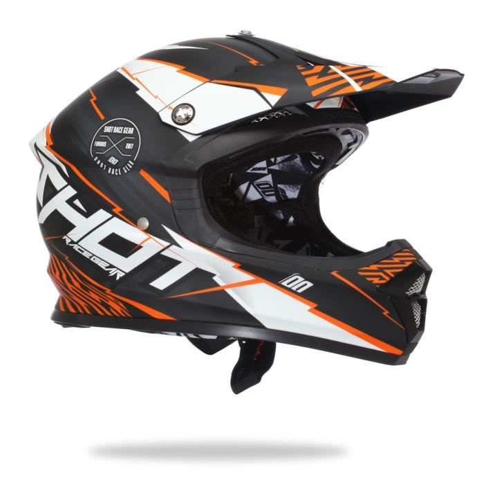 casque bmx shot race gear