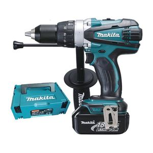 perceuse a percussion 18v 13mm 3ah makita. Black Bedroom Furniture Sets. Home Design Ideas
