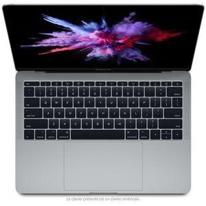 """Vente PC Portable Apple MacBook Pro 13"""" Reconditionné - Core i5 2.3 - RAM 8GB - Stockage 128Go SSD - Iris Plus Graphics 640 - Gris Sidéral - 2017 pas cher"""