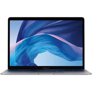 "Vente PC Portable Apple MacBook Air 13"" Reconditionné - Core i5 1.6 - RAM 8GB - Stockage 128Go SSD - Intel UHD Graphics 617 - Gris Sidéral - 2018 pas cher"
