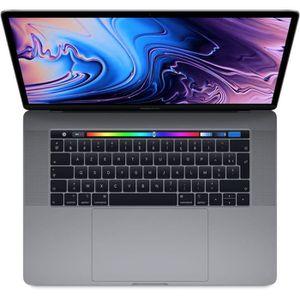 """Achat PC Portable MacBook Pro 15,4"""" Retina avec Touch Bar - Intel Core i7 - RAM 16Go - 256Go - Gris Sidéral pas cher"""